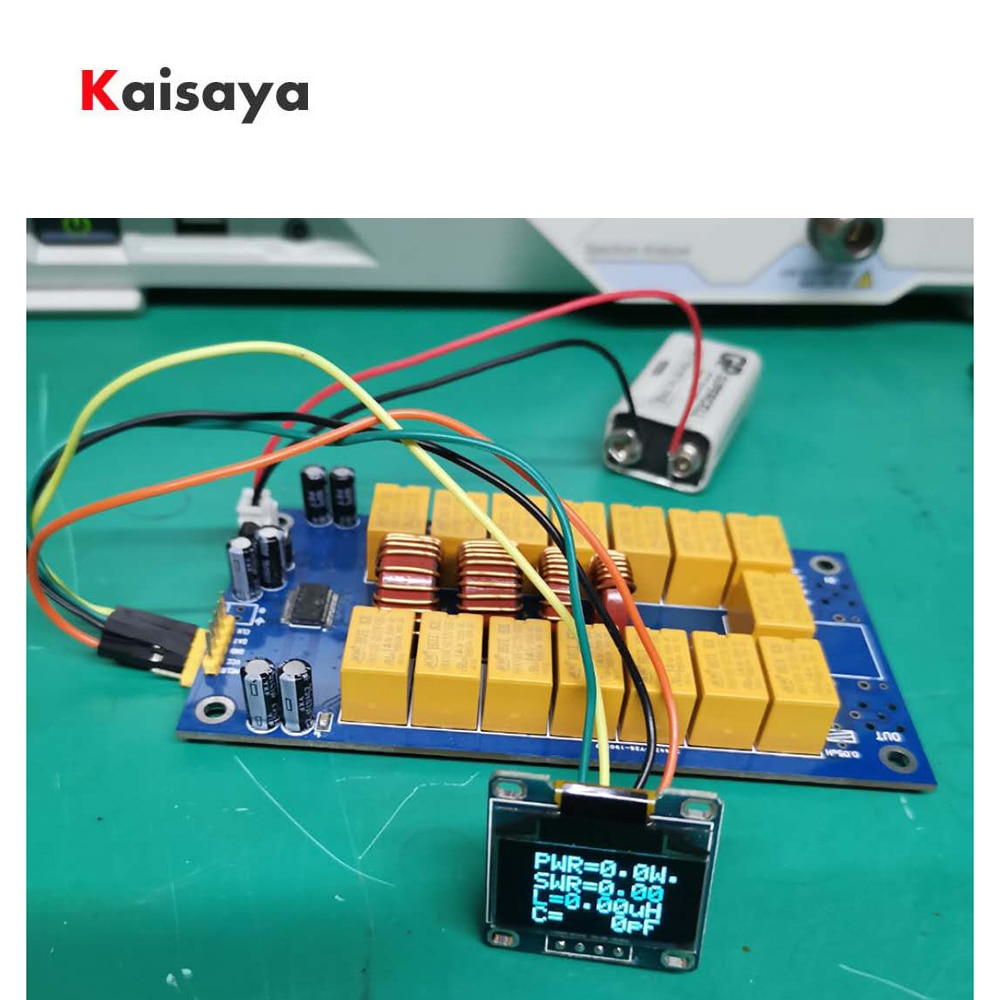 MINI 0.96 inch OLED ATU-100 DIY Kits 1.8-50MHz ATU-100 mini Automatic Antenna Tuner by N7DDC 7x7  Firmware programmed E3-010