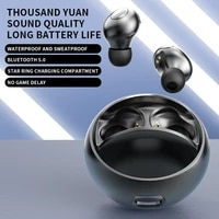 h8 tws true wireless headphones upgrade bluetooth 5 0 in ear star ring sports earbuds mic gaming headset trend for xiaomi oppo