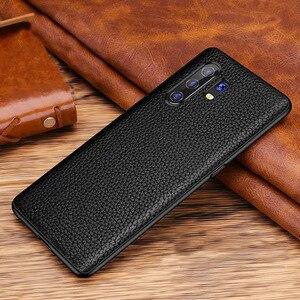 Cow Leather Case For Vivo X30 Pro Case Funda Soft Litchi Grain Genuine Leather Case For Vivo X30 Pro X30pro X 30 Back Cover