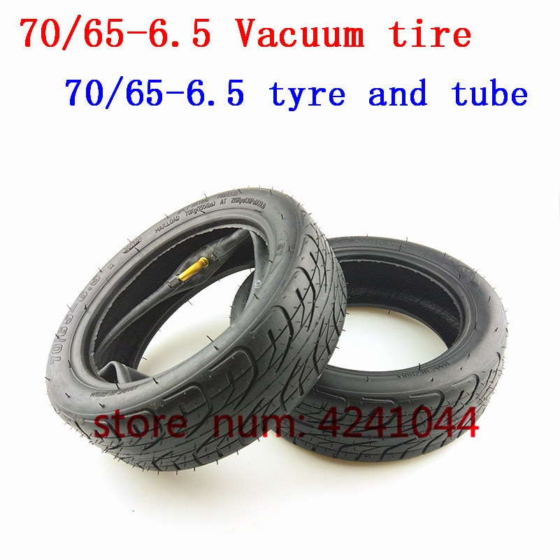 Neumáticos de Scooter de 10 pulgadas 70/65-6,5, neumáticos de vacío sin cámara o tubo interno de neumático 70/65-6,5 para scooter Eléctrico de equilibrio Xiaomi Mini Pro