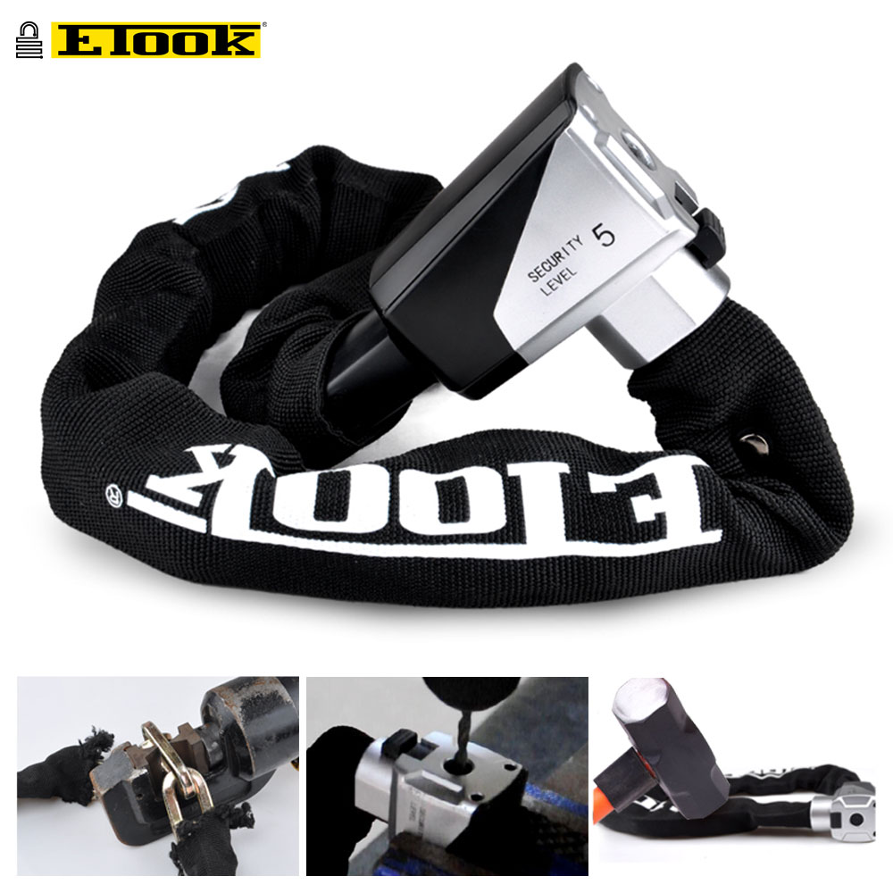 AliExpress - ETOOK Bicycle Lock MTB Road Bike Safety Anti-Theft Chain Lock With Special Hardened Steel Outdoor Cycling Accessories