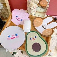 lovely kids gaming mousepad game carpet mouse pad round lovely mouse mat anti slip mousepad game computer notebook mat