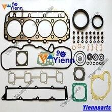 For VOVLO D3.1ACAE2EW2U D3.1 Full Gasket Kit YM729906-92740 W/ Head Gasket For Excavator Forklift Yanmar Engine Repair Parts