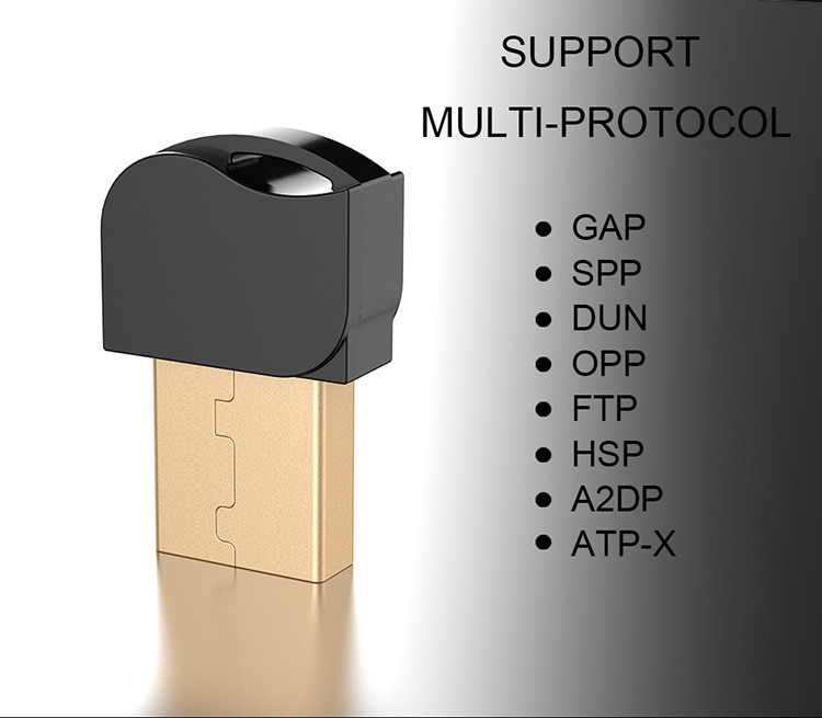 Bluetooth Adapter Receiver V5.0 for PS4 Computer PC Mouse Wireless Mini USB Bluetooth Dongle 5.0 for Speaker Music Rece