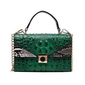 Bolsa Mujer Bags For Women 2020 Luxury Handbags Women Bags Designer Crocodile Pattern Leather Shoulder Messenger Bag sac a main