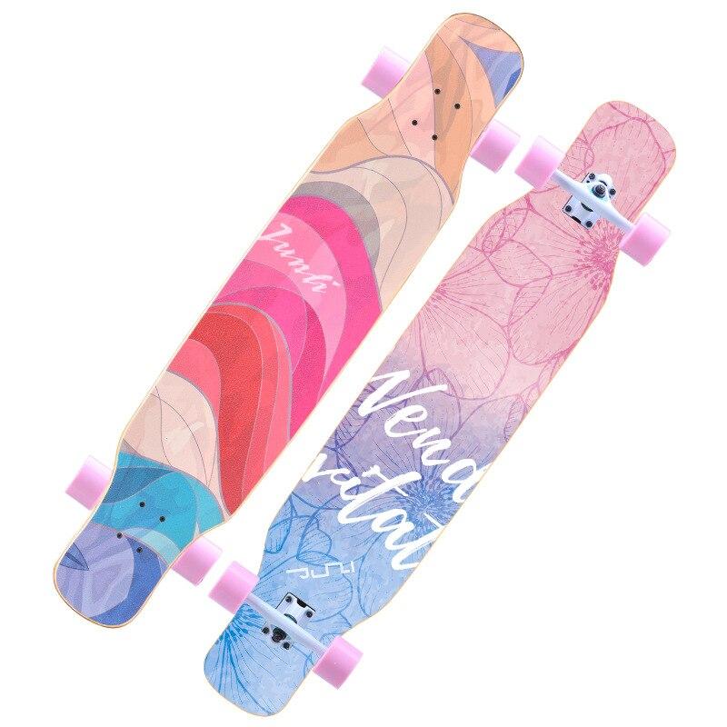 Скейтборд для начинающих, Кленовый Скейтборд, модный скейтборд, скейтборд, скутер, Фристайл Kaykay, оборудование для фитнеса BI50SB
