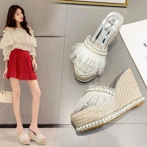 2021 New Women's Sandals Shoes Pearl High Heel Women Pumps