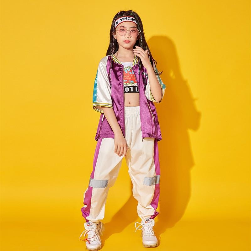 2021 nueva Ropa de Hip Hop para niños chaqueta para correr y...