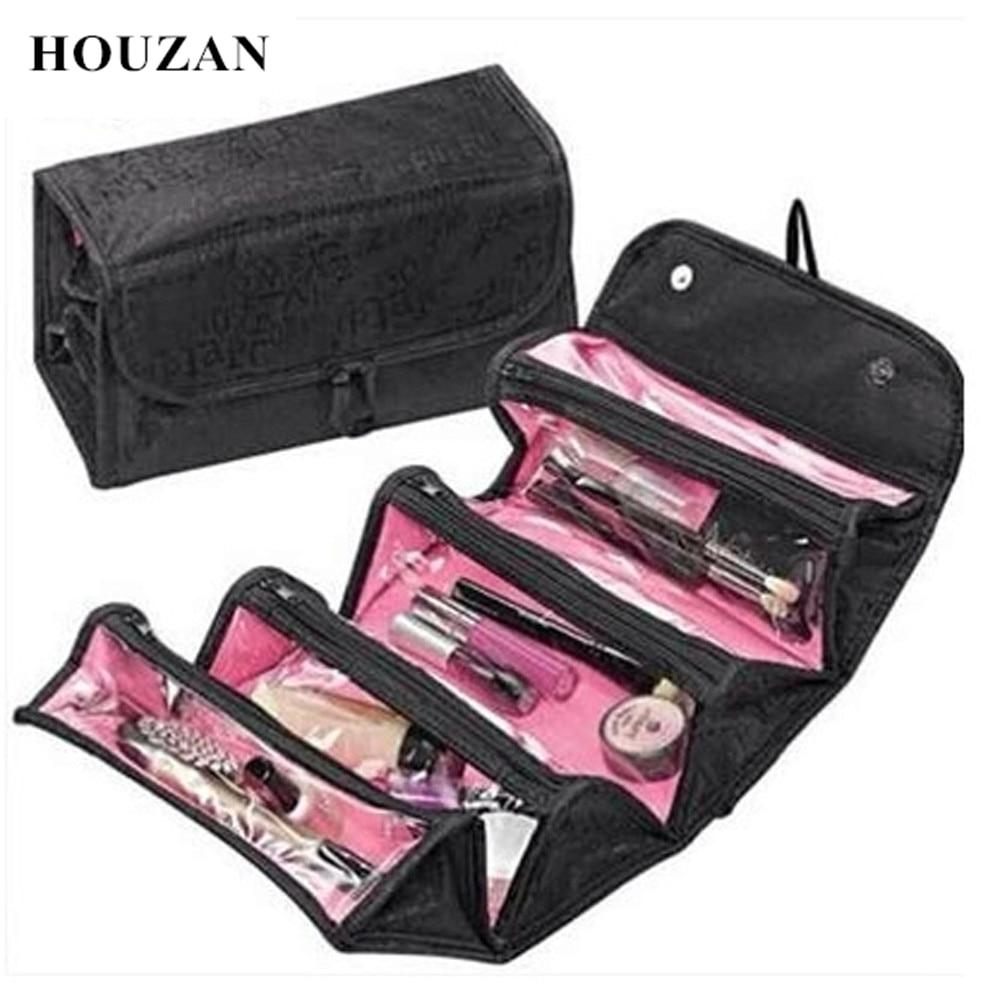 Neceser esteticista Necessaire los hombres y las mujeres de belleza de viaje Neceser maquillaje maleta hacer caja tipo organizador para cosméticos bolsa