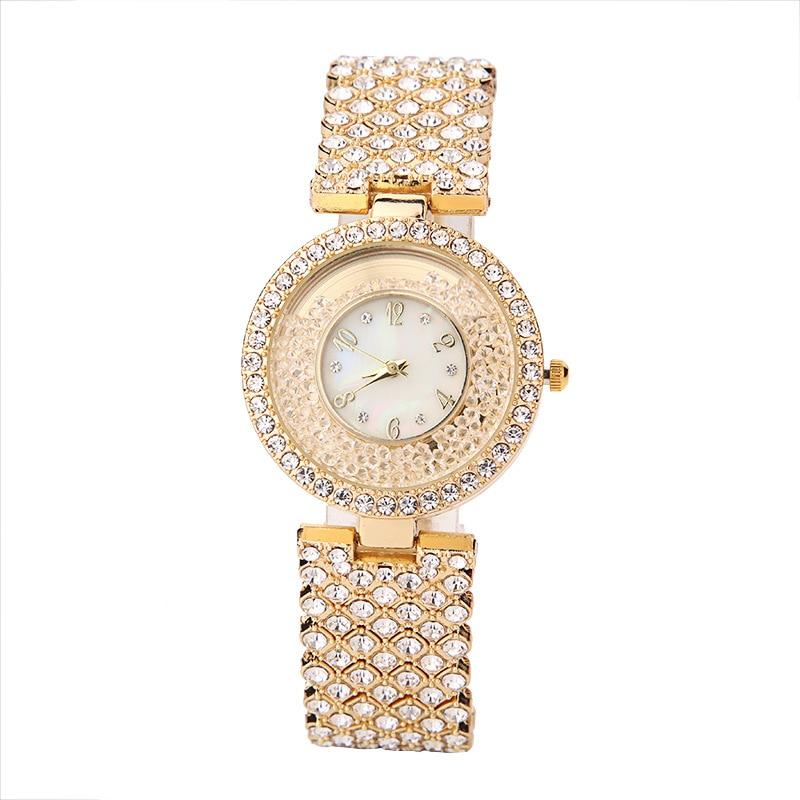 Женские роскошные брендовые часы со стразами 2021, элегантные женские часы, золотые часы, женские часы, женские часы