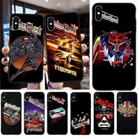 judas priest steel rob phone case for iphone 12 mini se 2020 5 5s 6 6s plus 7 8 plus x xr xs 11 pro max fundas coque cover