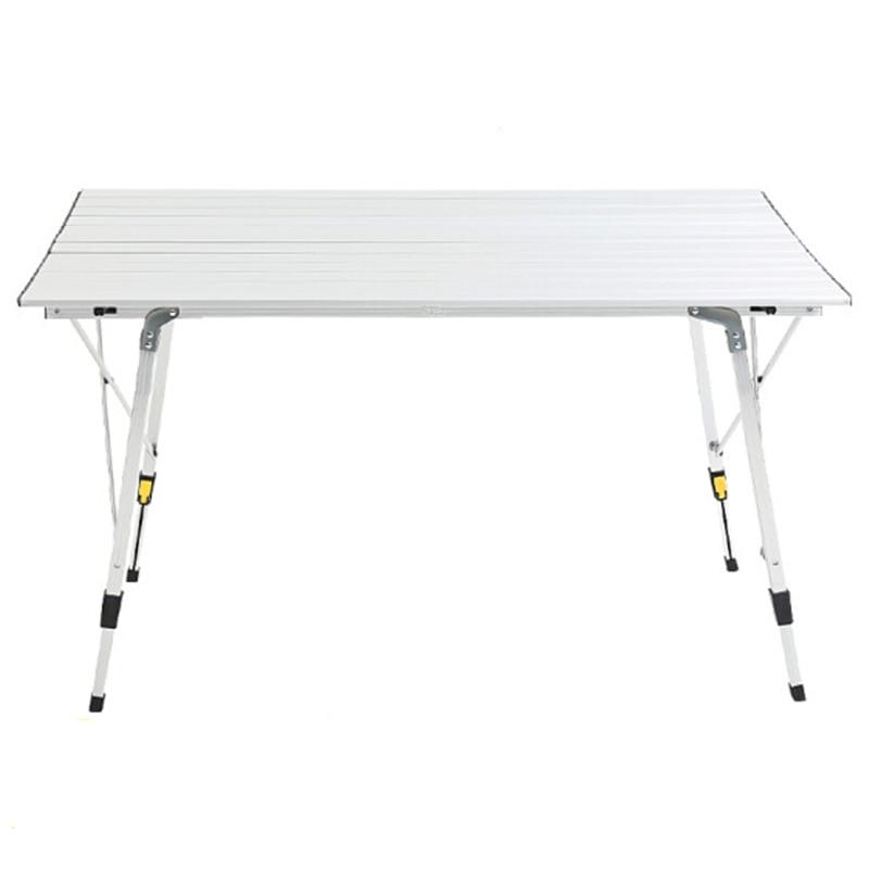Utdoor-Mesa portátil ultraligera de aleación de aluminio, Mesa Plegable para barbacoa, Camping, Picnic, Plegable