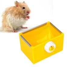애완 동물 lipping 피더 교수형 그릇 플라스틱 쥐 다람쥐 토끼 기니 돼지 햄스터 음식 그릇 접시 고슴도치 용품