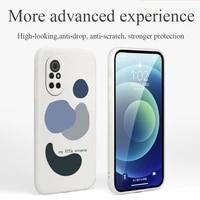 cute little universe phone case for huawei nova8 8pro 8se nova 7 7pro 7se 6 6se 5 5pro 5z 5i 5ipro 5t 4 4e silicone cover