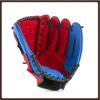 leather baseball gloves men accessories left hand baseball training softball glove practice guante de softbol baseball gear