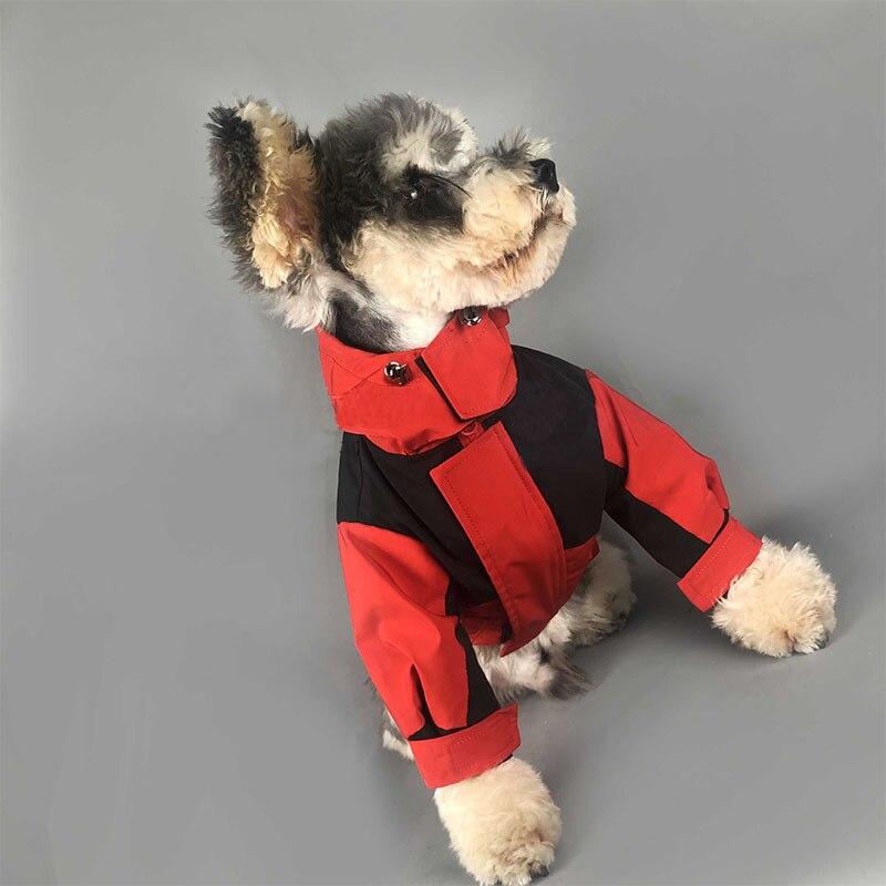 Roupas para Cães Cabolsa de Inverno para Cães Jaqueta para Pet Pequenos Buldogue Francês Chihuahua Destacável Pc1163