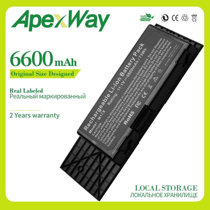 ApexWay-batería para ordenador portátil, 11,1 v, 199-2007, 7XC9N, C0C5M, 201-2018, BTYVOY1, para...