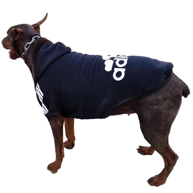 Dog Clothes Pets Dog Clothing Hoodies Sweatshirt Pet Casual Hooded Big Dog Coat Winter Large Dogs Coat Jacket For Dog Costume