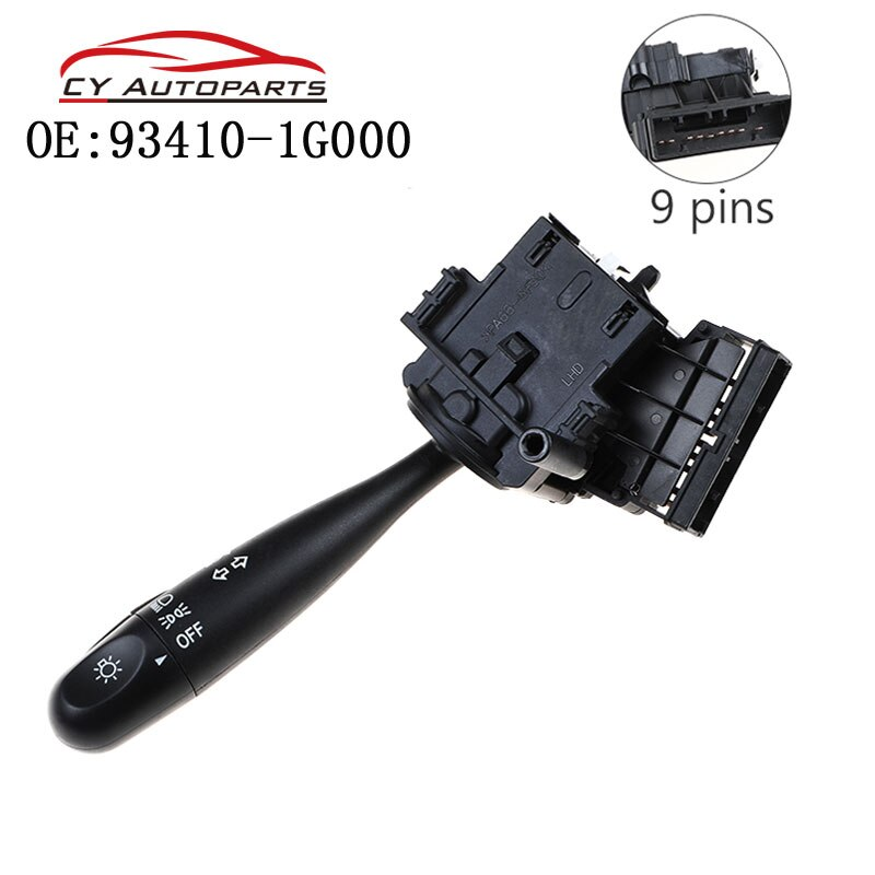 Headlight Turn Signal Switch For Hyundai Kia Accent Rio 2006-2011 93410-1G000 934101G000 93410-1C000 934101C000 93410-1C200