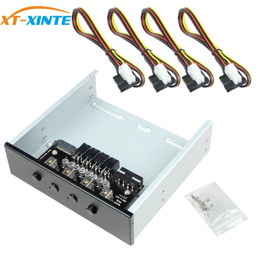 XT-XINTE ذكي 4/6 تحكم القرص الثابت إدارة نظام Hub HDD SSD الطاقة التبديل مع المسلسل/SATA كابل الطاقة