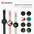 SANLEPUS ЭКГ Смарт часы Bluetooth вызова 2021, новинка, мужские и женские, водонепроницаемые Смарт-часы монитор сердечного ритма для Android Samsung Apple