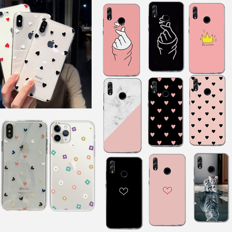 Silicone Case For Huawei P30 Lite P30 Case cover For Huawei Honor 7A DUA-L22 P30 P20 Lite Phone P Sm