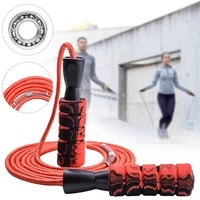 speed jump rope crossfit excercise skipping ropes with tangle free bearings anti skid foam grip gym home fitness equipment