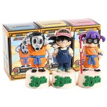 Dragon Ball 30th Ichiban kuji F prix Arale Nori Toriyamaro singe Kin PVC figurines jouets 3 pièces/ensemble