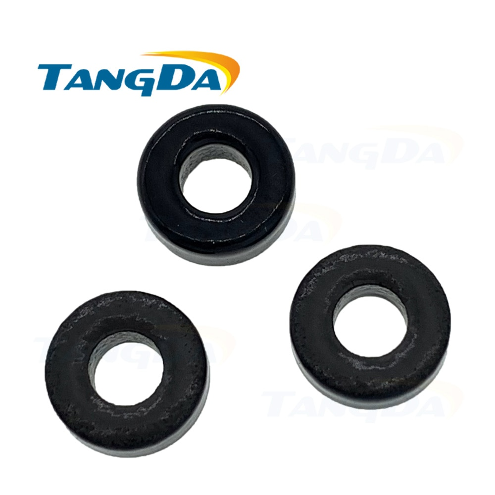 10 núcleos de polvo de hierro Tangda T30 T30-10 OD * ID * HT 7,8*3,8*3,3mm 2.5nH/N2 6uo polvo de hierro Toroide núcleo toroidal 2,5 6 A