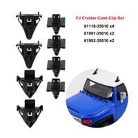 body cowl clip car for toyota fj cruiser 2007 14 panel retainer set accessories
