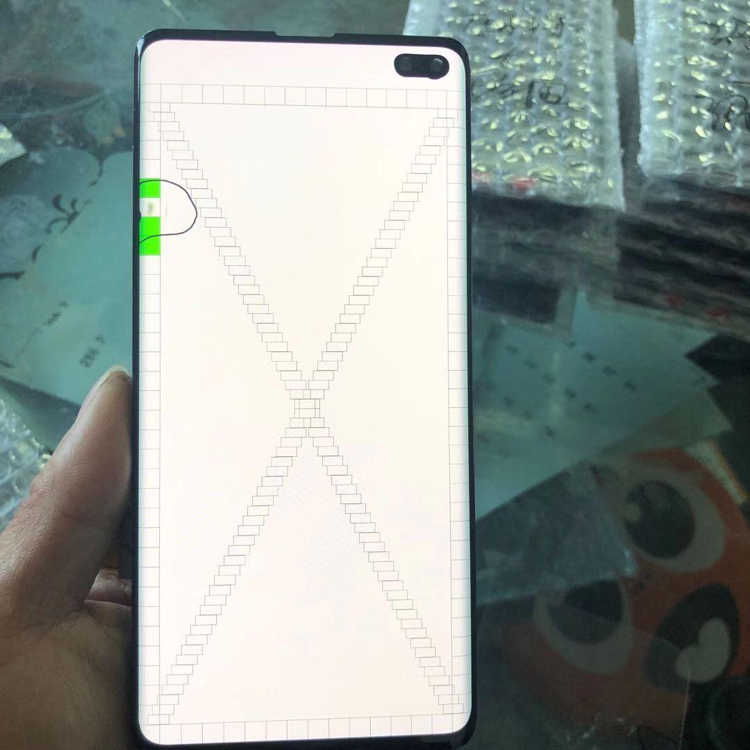 Lcd original para samsung galaxy s10 plus lcd s10plus g975 SM-G9750 g975f display lcd tela de toque digitador com conjunto defeito