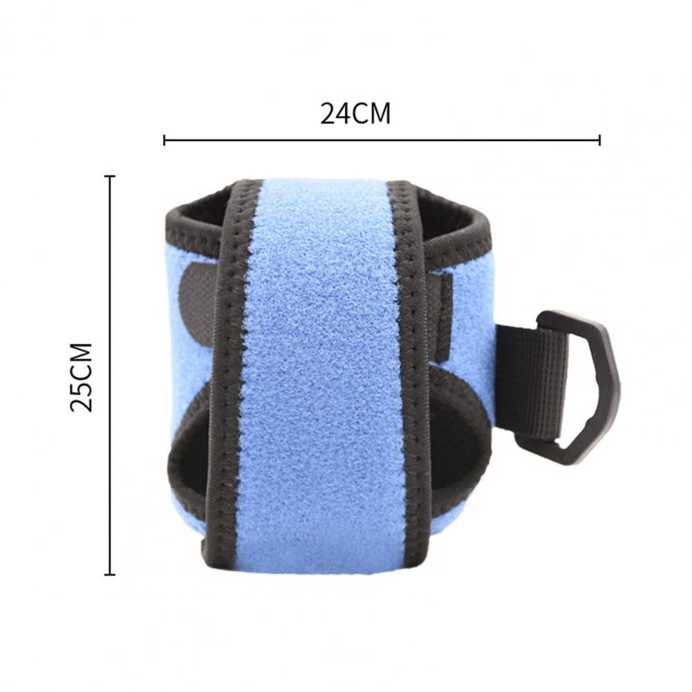 Outdoor Portable Fishing Reel Bag Anti-slip Multicolor Magic Sticker Water Drop Reel Case Protective Sleeve Drum Wheel Bag