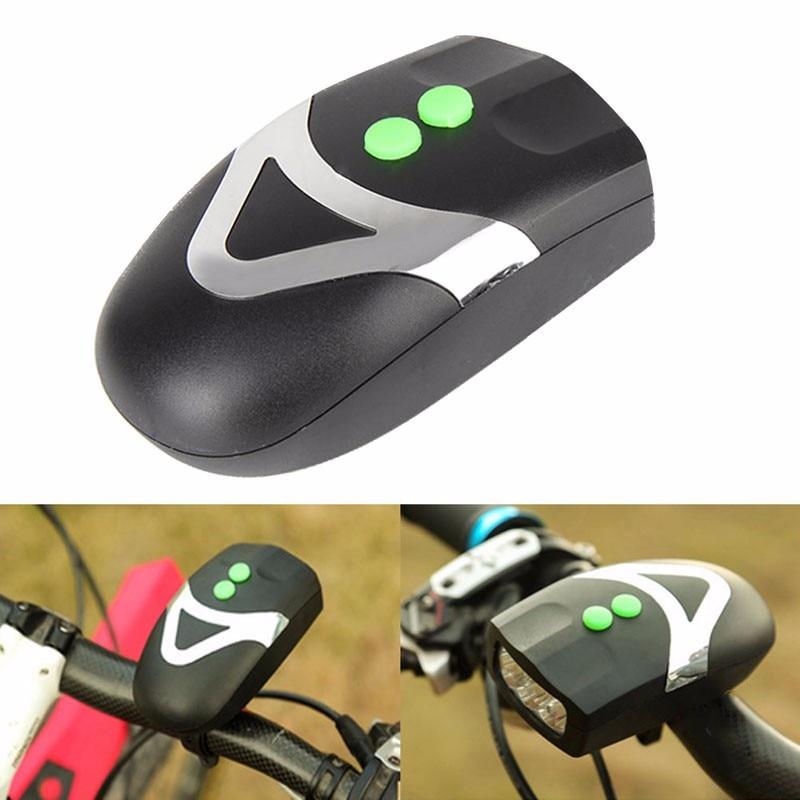 Universal LED Cycling Bike Headlight Lamp Electronic Horn Bell Warning Outdoor Balaclava