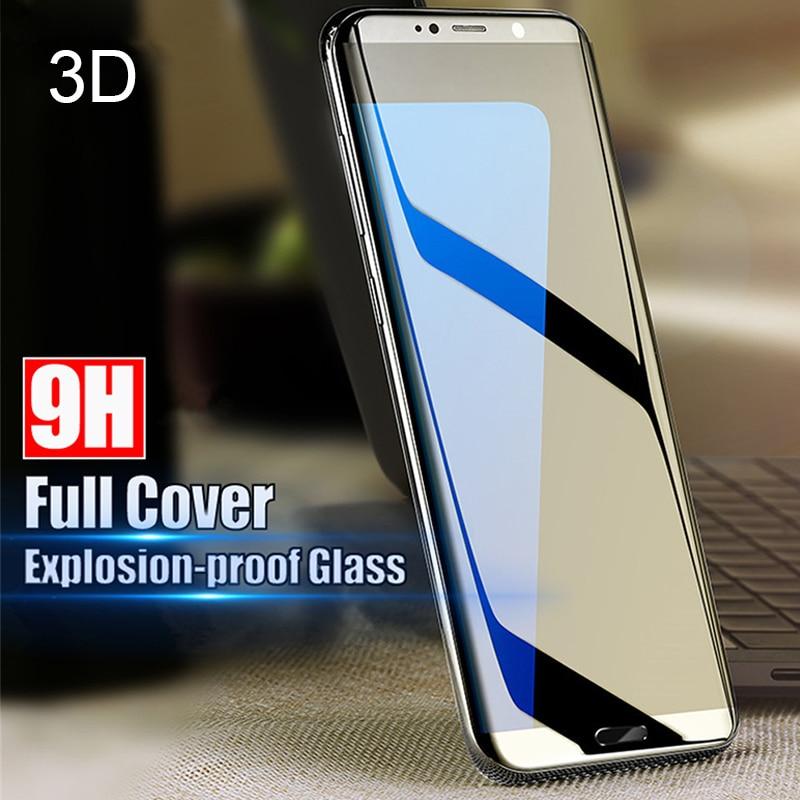 Vidrio Templado Protector 3D para Samsung Galaxy A3 A5 A7 A8 2017 2018 película protectora de pantalla para J2 J3 J5 Prime Cover Glass