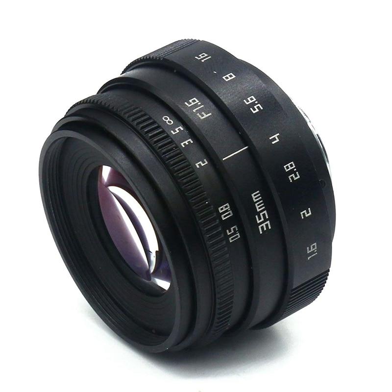 Abhu-mini 35mm f1.6 APS-C lente da tevê da televisão/lente do cctv para a câmera da montagem de 16mm c