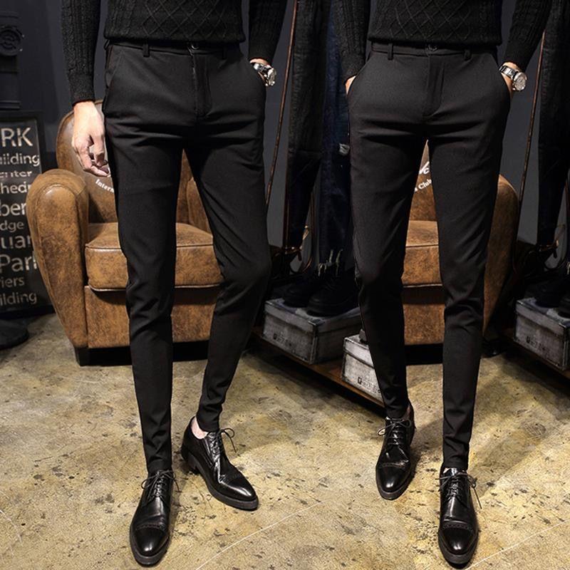 Профессиональная Деловая одежда, мужские облегающие брюки, деловые повседневные женские прямые брюки, Молодежные рабочие брюки