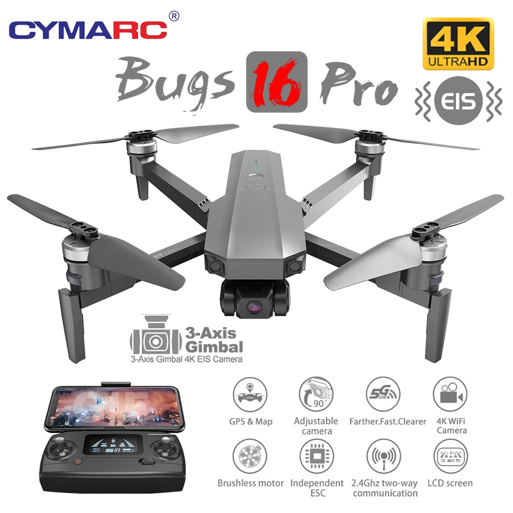 MJX B16 PRO Brushless Professional Drone 4K HD Camera Quadcopter 3-Axis Gimbal GPS Drone