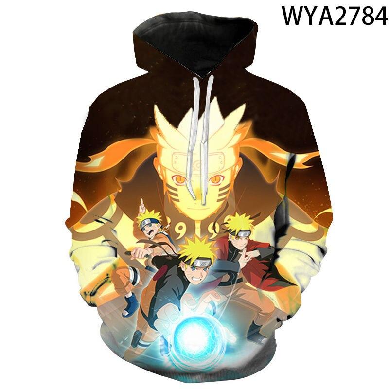 Hokage Ninja Naruto Uzumaki Naruto Sweatshirt Kinderen Hoodies 3D Print Super Saiyan Trui Goku Jas Kostuum Kids Streetwear