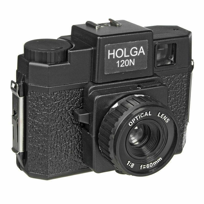 جديد لكاميرا HOLGA ذات ضوء عكسي ومتسرب 120 فيلم لون 120N كاميرا متوسطة الحجم لوموغرافيا لومو كوداك فوجي فيلم أزرق وردي