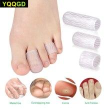 1Pair Foot Care Professional Toe Finger Protector Toe Bunion Protector Corn Clavus Protector Toe Cap