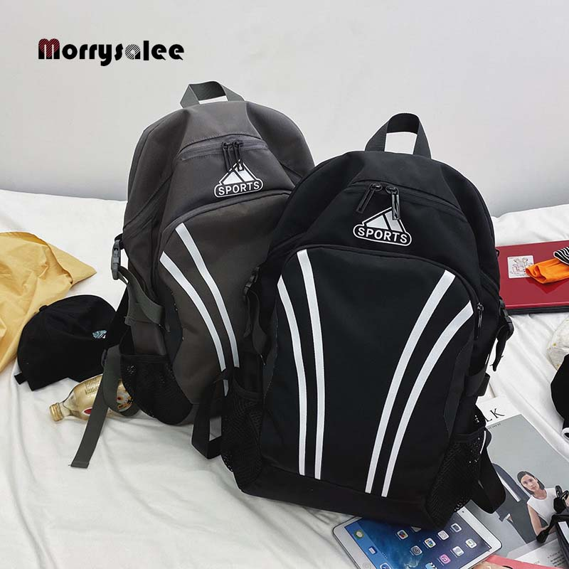 Новинка 2020, модный мужской холщовый черный рюкзак, школьный рюкзак для студентов колледжа, сумки для подростков, повседневный рюкзак, дорож...
