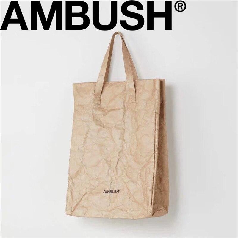 AMBUSH Bag Casual Package Boy Girl Couple AMBUSH Crossbody Bags Streetwear Backpacks