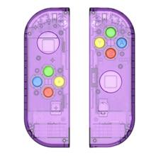 Escudo do interruptor da substituição de myriann para o console ns do interruptor de nintend para o joy-controlador com cores diferentes