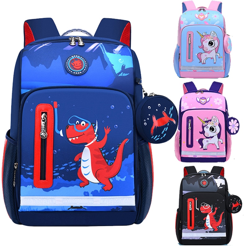 Dinosaur Cartoon Backpack For Baby Boys Girls Unicorn Children Lovely Schoolbag Baby's Schoolbag Kids Gift Fashion Mochila
