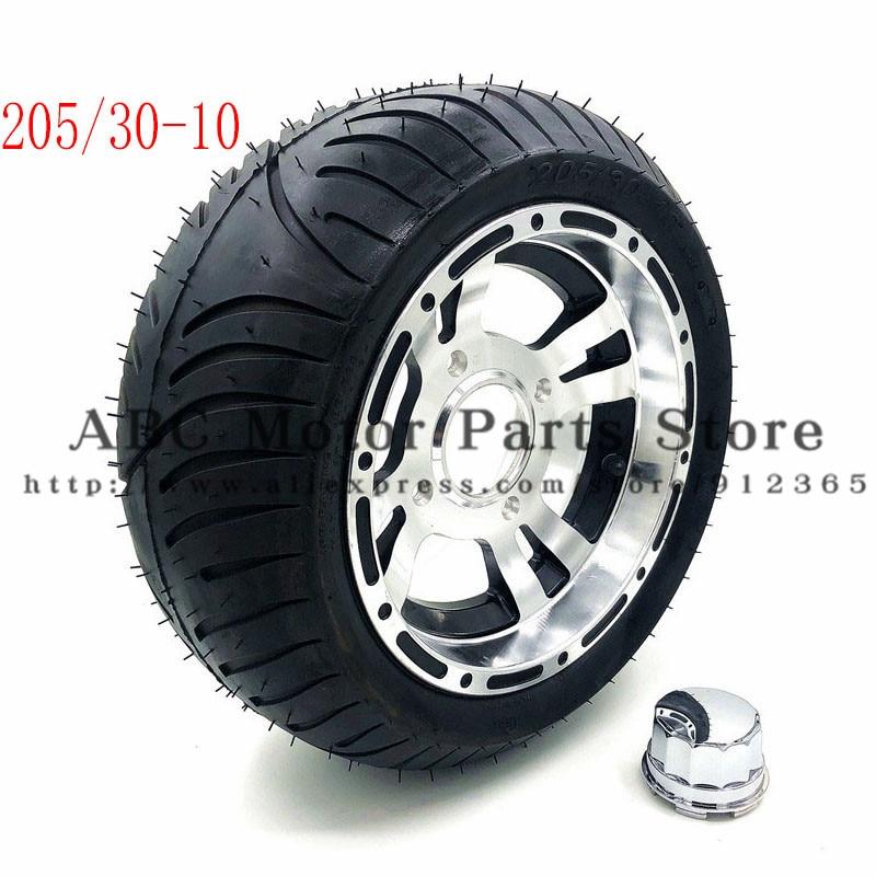 205/30-10 картинг обод колеса мотоцикла с бескамерная шина