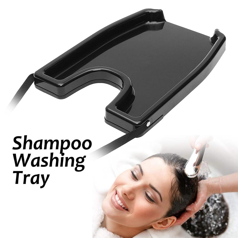 Bandeja para champú portátil para lavar el cabello lavabo para pacientes ancianos salón tratamiento hogar lavado médico peluquería herramienta de cuidado del cabello