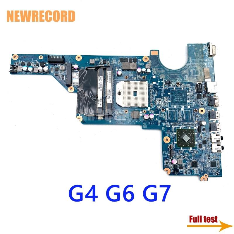 NEWRECORD 649948-001 649948-501 DA0R23MB6D0 DA0R23MB6D1 محمول لوحة رئيسية لأجهزة HP بافيليون G4 G4-1000 G6-1000 G7 AMD اللوحة الأم