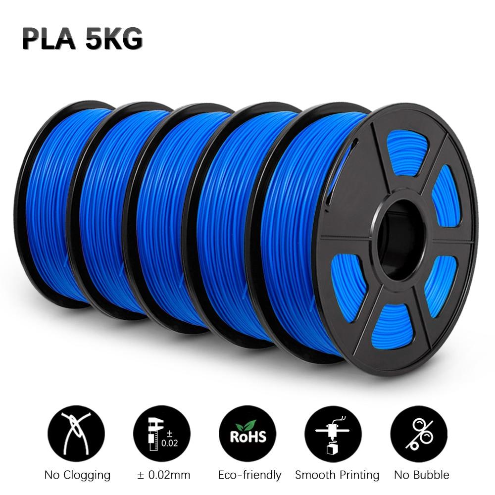 PLA 3D Filament Filament Printer 1.75MM 5 Rolls/Set Children Creative Model Material For All 3D Printer&3D Pen  GOHIGH