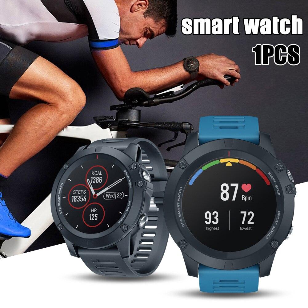 Smartwatch Fitness GPS Smartwatch pulsera de monitoreo de salud impermeable para Mujeres Hombres deportes h-best