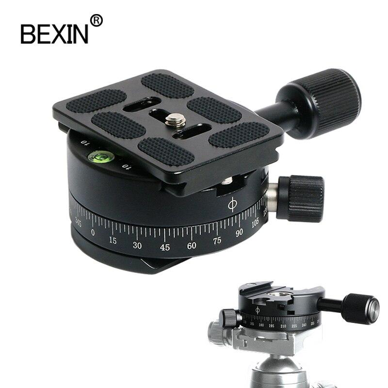 Зажим для камеры панорамный зажим для съемки штатив монопод быстросъемная пластина поворотный пластины штатив камеры dslr